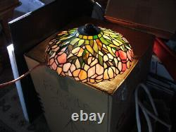 Arts and Crafts, Art Nouveau, Art Deco LEADED GLASS, STAINED GLASS LAMP SHADE