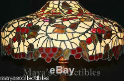 Chicago Mosaic Leaded Stained Glass Lamp Shade Cherry Tree Tiffany Style 25