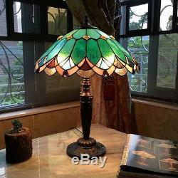 Chloe Lighting Tiffany Style 2 Light Table Lamp CH15131GV16-TL2