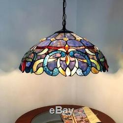 Chloe Lighting Tiffany Style Victorian Ceiling Lamp CH18091PV18-DH2