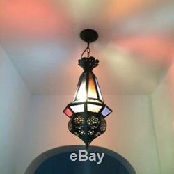 Classical Moroccan Style LED Pendant Light Fixture Hanging Ceiling Lamp Hotel