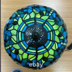 Dragonfly Tiffany Style Ceiling Lamp/light 10 Handcrafted Lamps Stained Glass