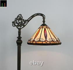 Free Postage JT Tiffany Stained Glass 12'' Hanging Floor Lamp Felice Style