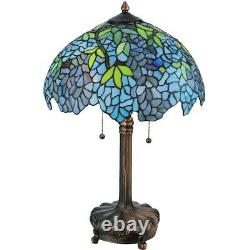 Meyda Lighting 25'H Tiffany Wisteria Table Lamp 139606