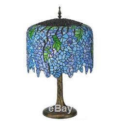 Meyda Lighting 28'H Tiffany Wisteria Table Lamp 118689