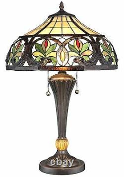 New Tiffany Style Sunrise Table Lamp Stained Glass Tiffany style lighting