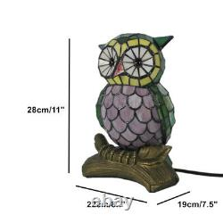 Owl Tiffany Corded Tiffany Lamp Lamps Home Lighting Night Light Children's Gift