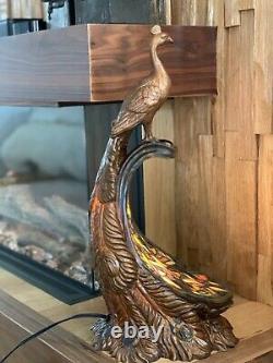Peacock Unique Tiffany Style Lamp