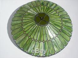 Rare ORIGINAL DUFFNER & KIMBERLY Stained Glass Bronze Tiffany Like Floor Lamp #2