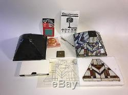 Stained Glass Lamp Kit Tiffany Dynasty 9 Glass Included! Mission 136 Pieces