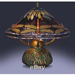 Table Lamps For Living Room Tiffany Style Dragonfly Mosaic Base Small Bedroom