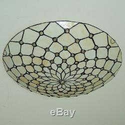 Tiffany Ceiling Lamp Light Chandelier Flush Mount Fixtures Stained Glass