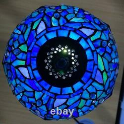 Tiffany Dragonfly Style Handmade Stained Glass Colourful Table Lamp Home Decor