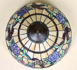 Tiffany Floor Lamp Stained Glass Standard Lamp Fine Quality