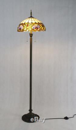 Tiffany Floor Lamp Tiffany Light Fixture Library Light Stand Light Tiffany Shade