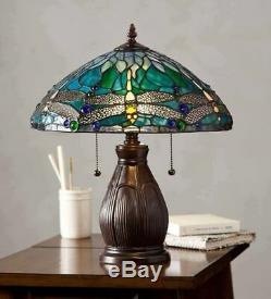 Tiffany Style Allendale Dragonfly Tiffany Stained Glass Table Lamp Best Lamp