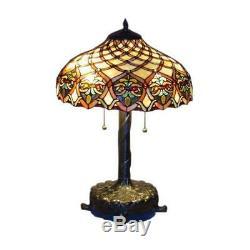 Tiffany Style Baroque Style Floor Lamp 16 Shade