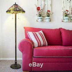 Tiffany Style Calla Lilly Floor Lamp 16 Shade
