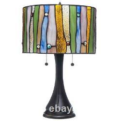 Tiffany Style Contemporary Table Lamp 16 Shade (Green, Blue, Yellow)