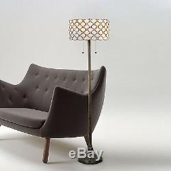 Tiffany Style Handcrafted Jeweled Floor Lamp 16 Shade