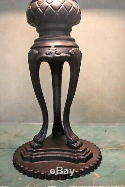 Tiffany Style Handcrafted Stained Glass Emperor Table Lamp 18 Shade