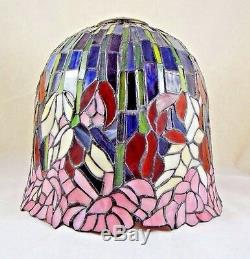Tiffany Style Lamp Stained Glass Bell Dome Shade