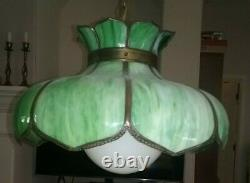 Tiffany Style Vintage Lamp Hanging Ceiling Chandelier Ceiling Light Fixture