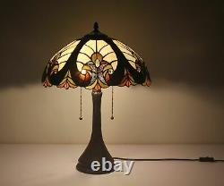 Tiffany Table Lamp Stained Glass Nightstand Light Tiffany Shade Library Light