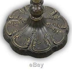 Tiffany-style Peacock Floor Lamp 18 Shade